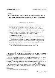 approximation properties of some operators in weighted spaces of ...