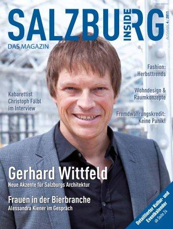 Gerhard Wittfeld - Salzburg Inside - Das Magazin