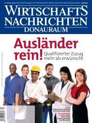 Ausgabe 04/2013 Wirtschaftsnachrichten Donauraum