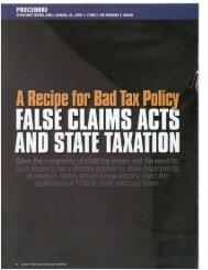 taxes. - Horwood Marcus & Berk