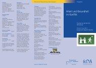 Arbeit und Gesundheit im Konflikt - Evangelische Akademie Bad Boll