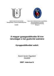 gyepgazdálkodási konferencia kötet anyaga (2007. március 9.) - és ...