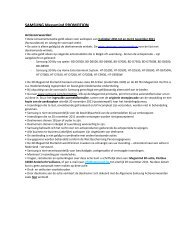SAMSUNG Megamind PROMOTION