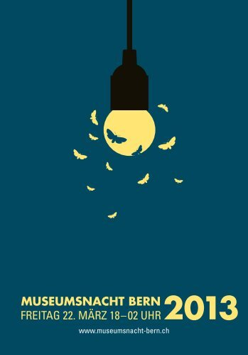 Programmheft 2013 - Museumsnacht Bern