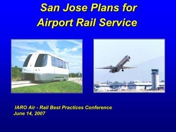 Jim Lawson - Data Interchange for Air-Rail Managers