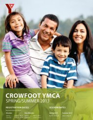 Summer Program Guide - YMCA Calgary