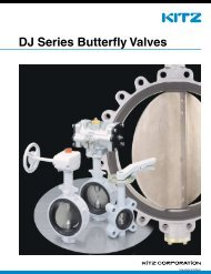 KITZ DJ Series Butterfly Valves - XSpace