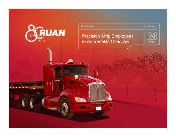 Explanation of Medical Plans - Ruan