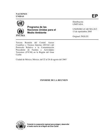 UNITED - Caribbean Environment Programme - UNEP