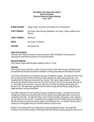 6-7-11 board meeting minutes - Bend Parks and Rec