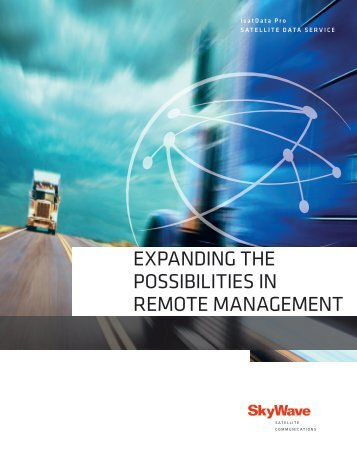 expanding the possibilities in remote management - Station711