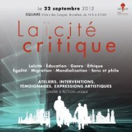 Programme.indd 1 22/05/12 17:17:15 - Centre d'Action Laïque