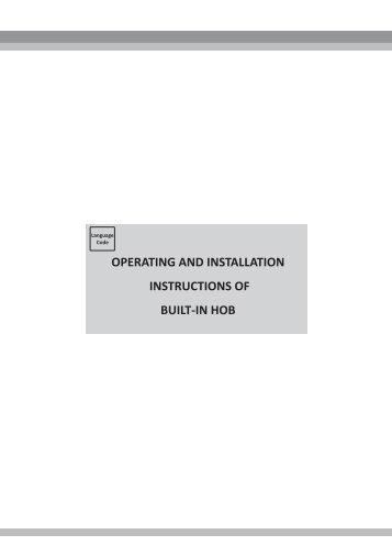 bosch induction hob instruction manual