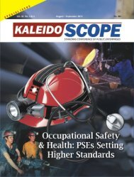 Occupational Safety & Health - scope