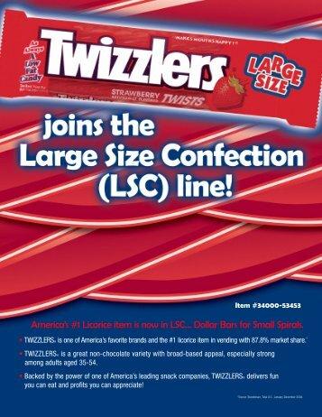Twizzlers LSC SS - Hershey's