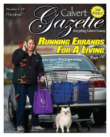 running errands for a living - County Times - Southern Maryland ...