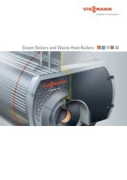 Steam Boilers and Waste Heat Boilers