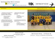 findet Ihr die Ausgabe vom 20. Spieltag - DJK Eintracht Hiltrup