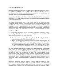 0a8b8db1f796 pihc burma project - Perth Integrated Health