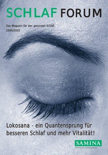 Lokosana - ein Quantensprung für besseren Schlaf und mehr ...