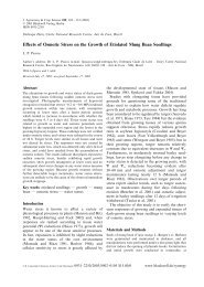 Effects of Osmotic Stress on the Growth of Etiolated Mung Bean ...