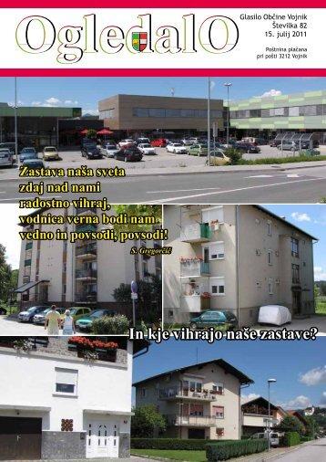 OGLEDALO, številka 82, julij 2011 - Občina Vojnik
