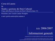 attività formative - Università del Piemonte Orientale