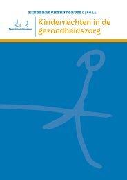 Kinderrechtenforum nr. 8: Kinderrechten in de gezondheidszorg ...