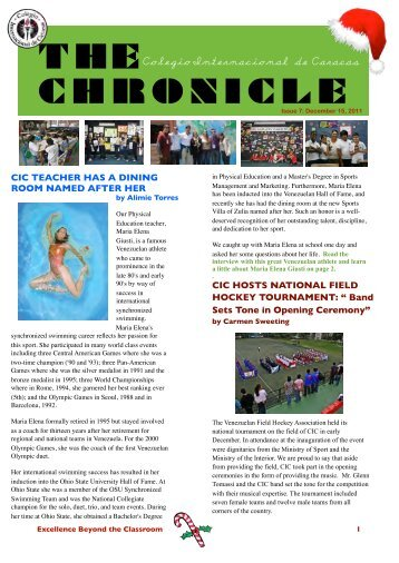 The December Chronicle - Colegio Internacional de Caracas