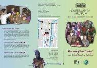 Kindergeburtstage - Sauerland-Museum
