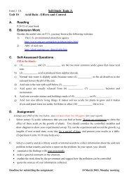 Self-Study Topic 3: Unit 10 Acid Rain - Effects and Control A ...