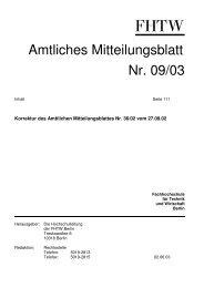 Amtlichen Mitteilungsblatt 09/03