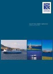 SCOTTISH FERRY SERVICES - Transport Scotland