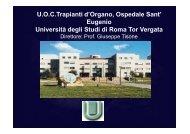 Fegato - Cattedra Chirurgia Tor Vergata