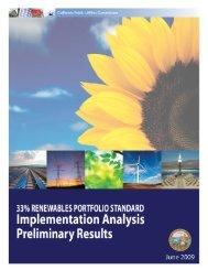 33% RPS Implementation Analysis - California Public Utilities ...