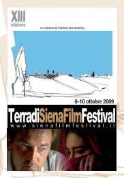 Programma completo del Siena Film Festival - SienaFree.it