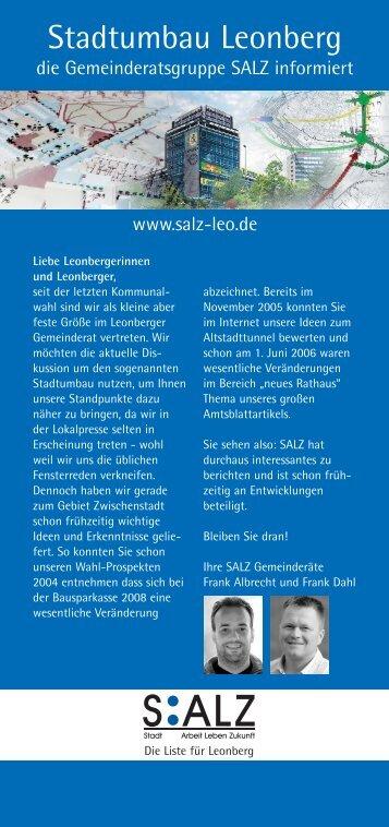 Stadtumbau Leonberg