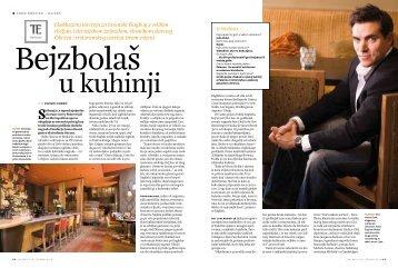 Ekskluzivni intervju za hrvatski Playboy s velikim chefom ...