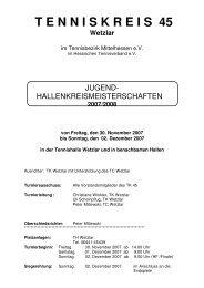 2007/2008 - TC Wetzlar