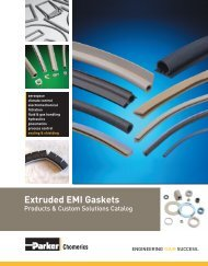 Extruded EMI Gaskets - Toptronic A/S