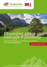 Obnovljivi viri energije v prometu - CO2-NeutrAlp