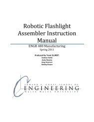 Robotic Flashlight Assembler Instruction Manual