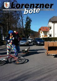 Lorenzner Bote - Ausgabe April 2011 (1,56 MB