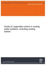 Guide to legionella control in cooling water systems, including ...