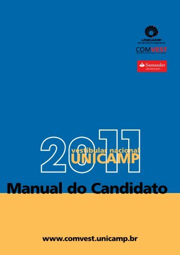 Manual 2011 - Unicamp