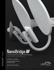 Ubiquiti NanoBridge M Range Datasheet (PDF) - 4Gon