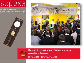 Festival des sens - Vins d'Alsace