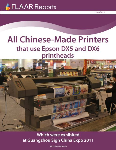 All Chinese-Made Printers - Wide-format-printers.org