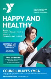 HAPPY AND HEALTHY - Council Bluffs YMCA