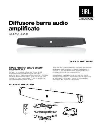 diffusore barra audio amplificato - JBL